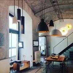 Vladan Běhal Design showroom in Prague Karlín Pendant Lights, Prague, Showroom, Ceiling Lights, Lighting, Instagram, Design, Home Decor, Style
