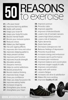 Need a reason to work out??