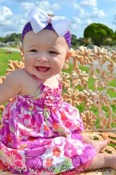 Baby photography in havelock and morehead city nc! Gorgeous outdoors! Cailee Nicole Photography! 7 months old!