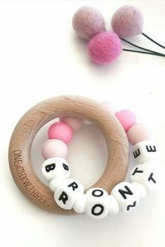 Our silicone rings are made from high quality, 100% food grade silicone beads that are free from BPA, lead, cadmium, phthalates, PVC and latex - #teethers #teething #babyteethers #babytooth
