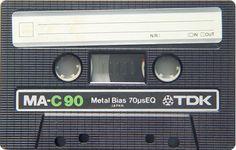 Cassette audio TDK MA-C90 Metal - www.remix-numeris... - Rendez vos souvenirs durables ! - Sauvegarde audio - Transfert audio - Copie audio - Digitalisation cassette - Restauration de bande magnétique Audio - Cassette Audio - Minicassette - Musicassette - Compact cassette - Elcaset - Magnétocassette - K7