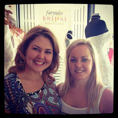 Designer Roz la kelin with Samantha Rouvray at Fairytales bridal Designer Day Croydon 2013 collection. I hav never done twins b4 @ the same time in all my years...What a joy 4 every1 involved.  Rx  #rozlakelin #rozlakelinbridal #bride #bridal #gown #girl #designer #couture #wedding #love #marriage