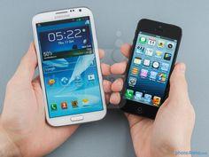 Samsung galaxy note 3 vs iphone 5s  – A specs comparison