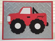 Cricut; Boys will be Boys; Monster Truck