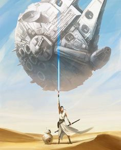 Star Wars art Do you ever want to see the planet Jakku return in any future St - Star Wars Canvas - Latest and trending Star Wars Canvas. - Star Wars art Do you ever want to see the planet Jakku return in any future Star Wars movies? Art by Star Trek, Nave Star Wars, Star Wars Fan Art, Star Wars Clone Wars, Aliens, Chewbacca, Star Wars Painting, Star Wars Models, Star Wars Gifts