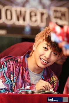 Bang Yongguk; o.o that smile... *gasp*