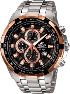 b03eb0a0a741 Men s Casio Edifice Chronograph Rose Gold Plated EF-539D-1A5V