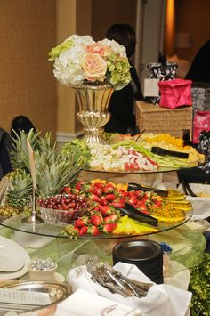 Fruit and Berry Display at the Wyndham Gettysburg