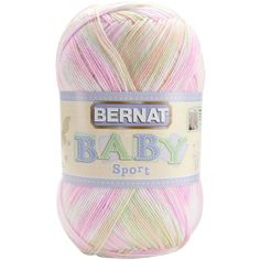 Spinrite Baby Sport Big Ball Yarn - Ombres-Tiny Tulips - tiny tulips