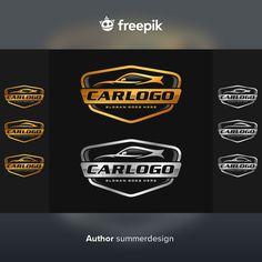 Conjunto de coche, plantilla de logotipo... | Premium Vector #Freepik #vector #logo #negocios #vintage #etiqueta Automotive Logo, Car Set, Vector Freepik, Logo Templates, Label, Business, Logos, Plants, Store