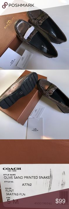 Coach Brand New Shoes Brand New with Tag. Open to offer. Coach Shoes Flats & Loafers
