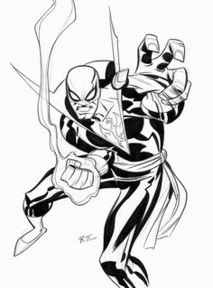 Bruce Timm // Iron Fist