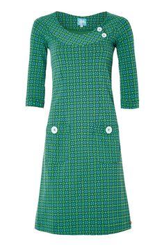 Dress Twiggy Green