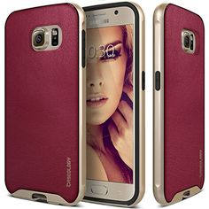 Galaxy S6 Case, Caseology® [Envoy Series] Premium Leather Bumper Cover [Burgundy Red] [Leather Bound] for Samsung Galaxy S6 - Burgundy Red Caseology http://www.amazon.com/dp/B00UGDB6N6/ref=cm_sw_r_pi_dp_d8CZwb0GSNCQV