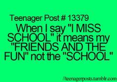 Teenager Posts♡