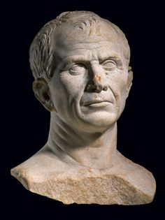 A life-size bust thought to depict Julius Caesar was found in the Rhône at Arles in 2007. Photograph by Rémi Bénali -Musée Départemental Arles Antique-