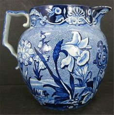 Pitcher from Staffordshire Pottery, 1860s