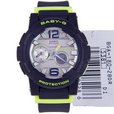Casio Baby-G G-Lide Ladies Watch BGA-180-2B BGA180