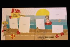 This is one of the layouts from my Summer Vibes 10 Page Workshop. Close To My Heart papers are from Summer Vibes, Stitched Together, Blue Skies, Seas The Day, Fresh Air, Craft On, Celebrate Today, So Much Happy and Something Fierce!         #ctmhsummervibes #ctmhscrapbooking #ctmh #ctmhjuly2020  #diy #workshopkit #thincuts #ctmhborntobloom #ctmhgnomematter #ctmhpaperpals #ctmhbeachday Scrapbook Pages, Scrapbook Layouts, Scrapbooking, Mystery Hostess, August Summer, Paper Hearts, Card Maker, Close To My Heart, Beach Day