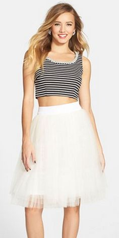 A. Drea Embellished Two-Piece Ballerina Dress, $98, nordstrom.com   - Seventeen.com