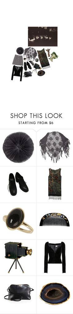 """""""Untitled #1894"""" by flapper-shoes ❤ liked on Polyvore featuring H&M, jucca, Kite and Butterfly, Dorothy Perkins, Universal Lighting and Decor, Yves Saint Laurent, The Row and Mapleton Drive"""