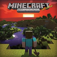 Hey there Minecraft fans I have found a great product the other day and I would love to share it with all of you! It's a Minecraft 2014 Calendar and it is just awesome!