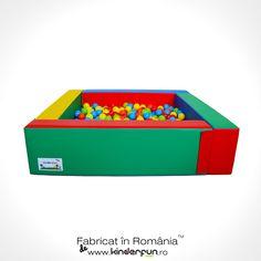 Piscină bile Magic 2  Peretii piscinei au prinderi cu scai pentru o fixare mai buna.  #montessori #pitball #poolball Mai, Montessori, Toy Chest, Storage Chest, Toys, Home Decor, Activity Toys, Homemade Home Decor, Decoration Home
