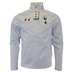 2015-2016 Tottenham Adult Waterproof Shell Jacket (White) | Fruugo