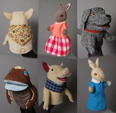 ハンドパペット : Puppet House Keeper's Blog