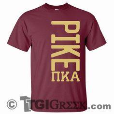 TGI Greek Tshirts - Pi Kappa Alpha - PR shirts recruitment rush