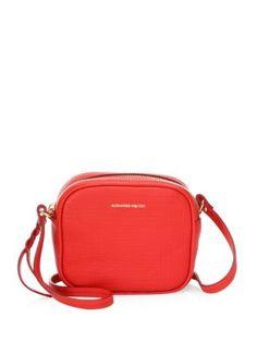 ALEXANDER MCQUEEN ??mall Camera Crossbody Bag. #alexandermcqueen #bags #shoulder bags #leather #crossbody #
