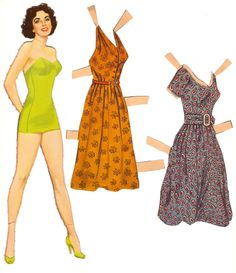 MY SISTER AND I ALWAYS BOUGHT PAPER DOLLS AT THE DIME STORE ON SATURDAYS WITH OUR SPENDING MONEY.   SHE LIKED LIZ TAYLOR AND I LIKED DORIS DAY AND JUNE ALYSON.  My Vintage Liz Taylor Paperdoll