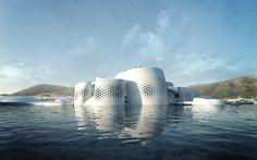 Pavillon Thématique de l'Exposition Universelle 2012 de Yeosu par soma © Isochrom