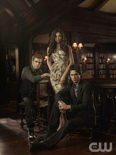 The Vampire Diaries - Paul Wesley, Nina Dobrev, Ian Somerhalder