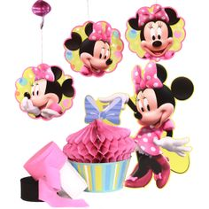 Minnie Mouse Birthday Party Decoration Package