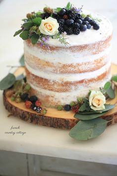 Inspired Entertaining- the secret to a 15 minute beautiful rustic cake  -  I am obsessed with blackberries.          And did you know we have dozens upon dozens of blackberry bushes growing wild here on our propert...