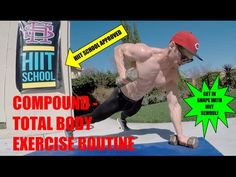 Total Body Workout | Compound Exercise Routine | HIIT School - YouTube