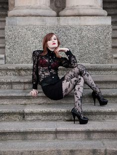 Tights: is about comfort & buying right fitting hosiery that compliments. Its about the variety of styles, colors, luster, textures & designs that apply personality to your legs like makeup.