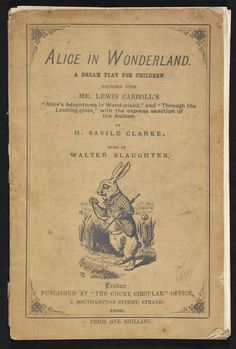 Read about 'Play adaptation of Alice in Wonderland' on the British Library's Discovering Literature website.