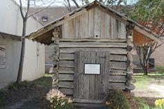 Historic Texas Log Post Office Log Post Office in Glen Rose Texas History,