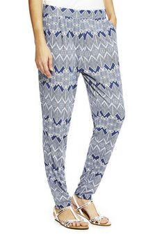 F&F Ikat Print Jersey Trousers - Tesco £12
