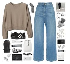 """""""BOUGHT A HUNDRED DOLLAR BOTTLE"""" by siamesecat-1 ❤ liked on Polyvore featuring Rachel Comey, adidas, H&M, Mossimo, Nearly Natural, Harry Allen, Aesop, Visionnaire, Topshop and The 2 Bandits"""