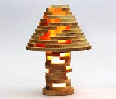 Stacked lamp – Une jolie lampe modulable inspirée des jeux de construction
