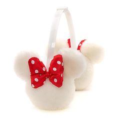 Minnie Mouse White Earmuffs