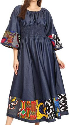 African Fashion Clothing Store, Dresses for Sale Online - Just Africa Image African Attire, African Wear, African Dress, African Print Dress Designs, Denim Maxi Dress, Latest African Fashion Dresses, Dress Patterns, Casual Dresses, Fashion Outfits