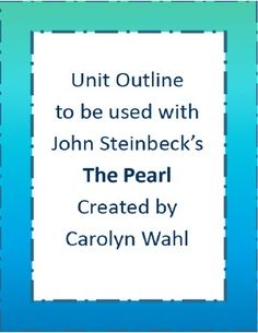 Allusions in the novella, The Pearl, by John Steinbeck?
