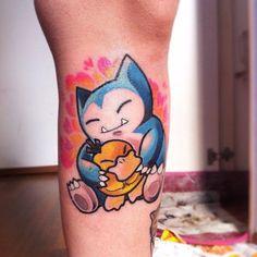 Gamer Tattoos, Dope Tattoos, Anime Tattoos, Dream Tattoos, Leg Tattoos, Body Art Tattoos, Nintendo Tattoo, Gaming Tattoo, Naruto Tattoo