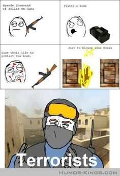 Story of terrorists in counter strike