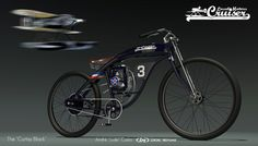 Bicycle design on Behance