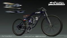 Bicycle design on Behance
